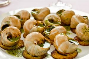 THE REALTION OF SNAILS TO THE RESTAURANT BUSINESS