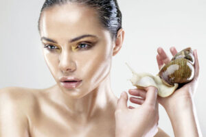 Who can use snail slime cosmetics?