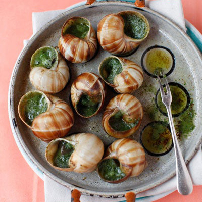 LEARNING TO COOK FRENCH SNAILS DISH