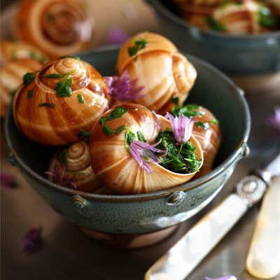 WHAT OTHER COUNTRIES ARE SNAILS POPULAR?